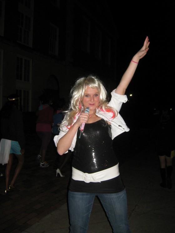 Heather Smith as Hannah Montana