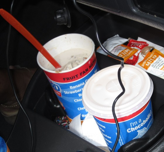 BOGO Blizzards from DQ