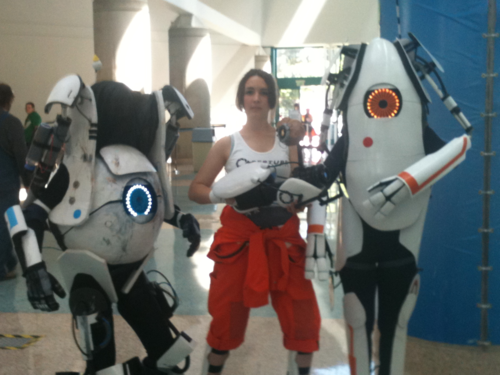Great Portal 2 Cosplay, or GREATEST Portal 2 Cosplay?