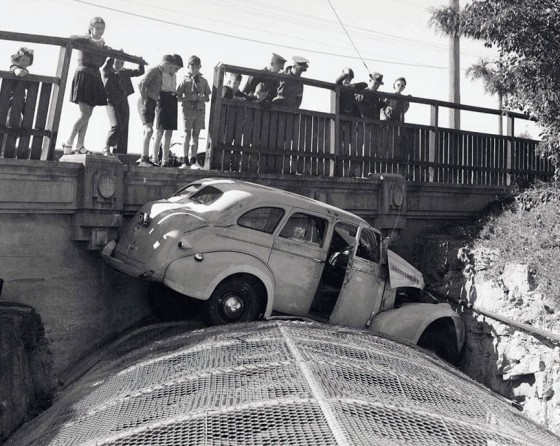 Old Car Crashes