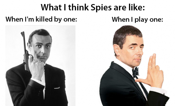 What I think about Spies.