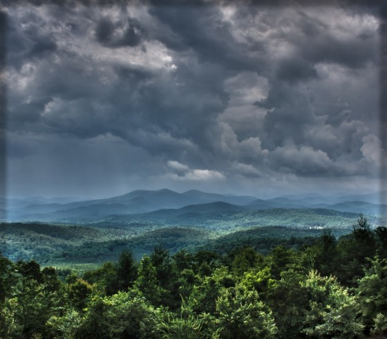 Blue Ridge Mountains in Georgia
