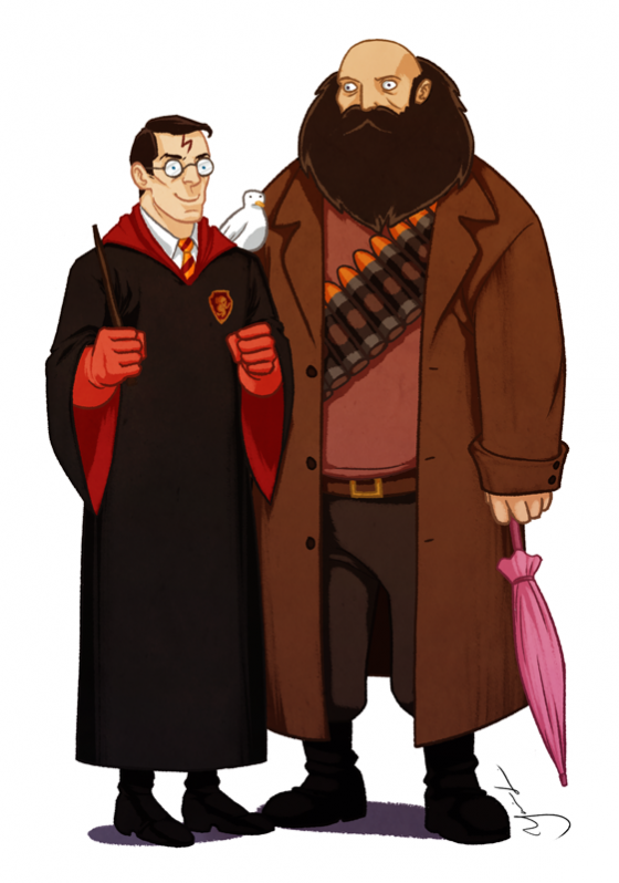 Heavy and Harry Potter