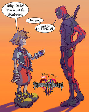 If Marvel characters were in the next kingdom hearts...
