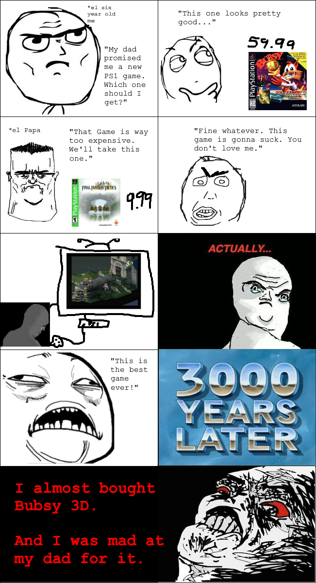 Little Kid Gaming Rage