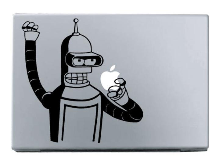 Bender - Macbook Decal