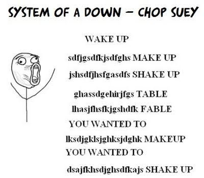 It's how the song goes:P