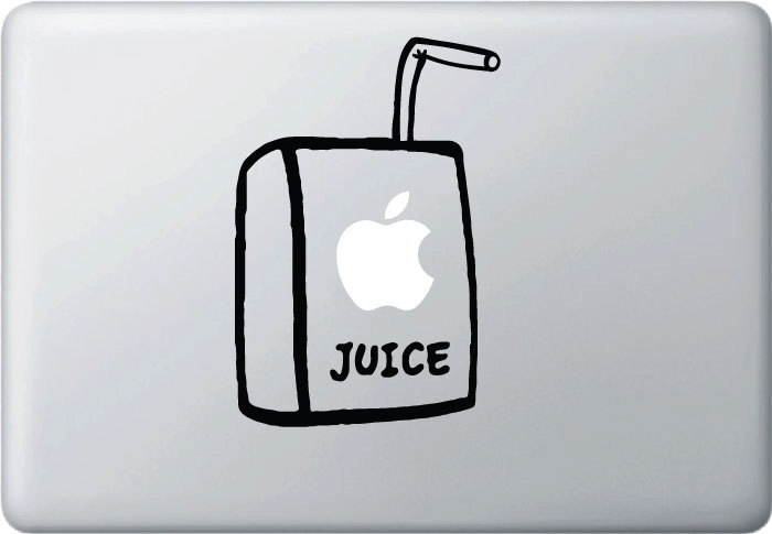 Juice Box - Macbook Decal