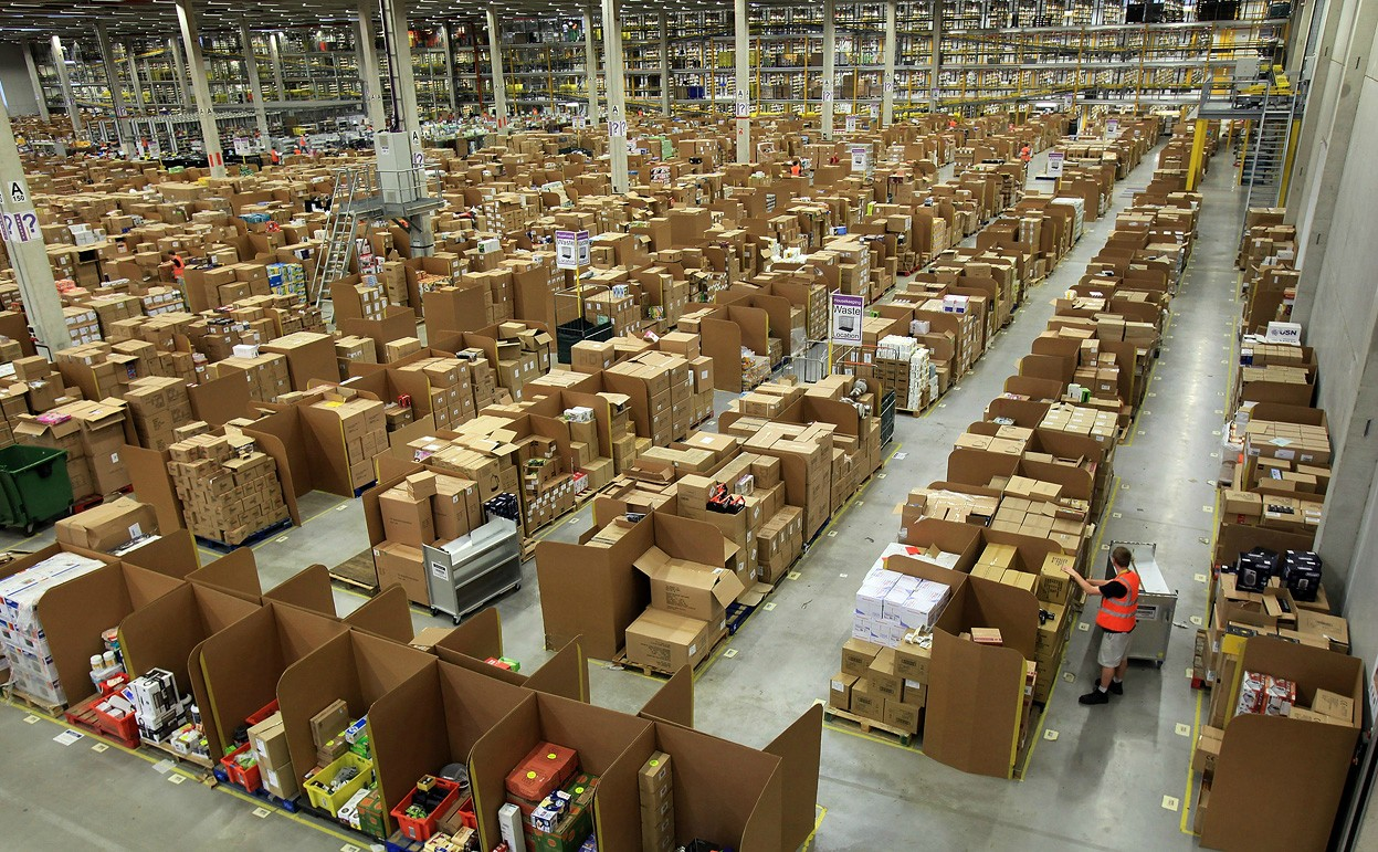 Just one of Amazon's warehouses.