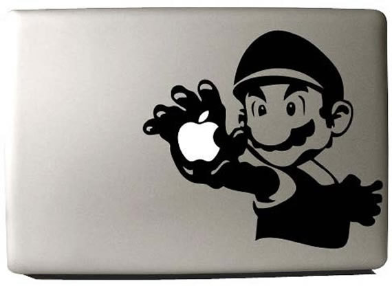 Mario - Macbook Decal