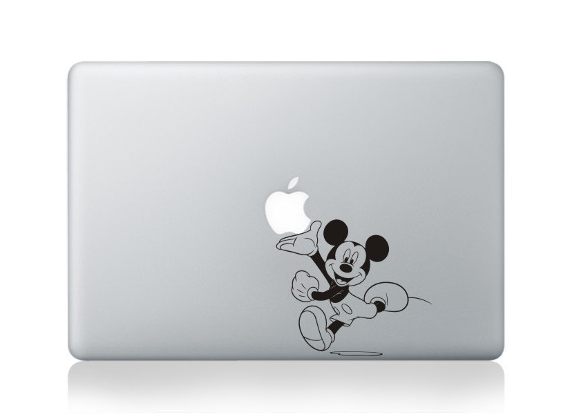 Mickey Mouse -macbook pro decal