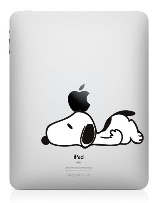 Snoopy -macbook pro decal