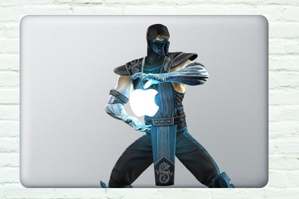 Sub Zero- Macbook Decal