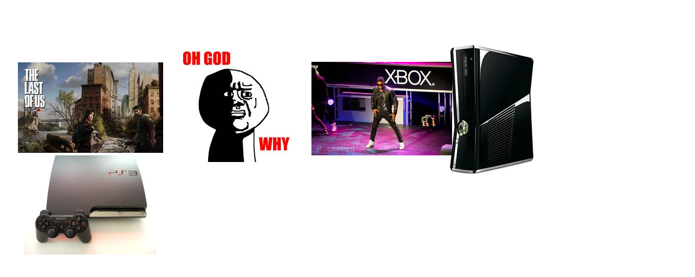 After watching Sony and Microsoft's E3 presentations as an Xbox owner.....