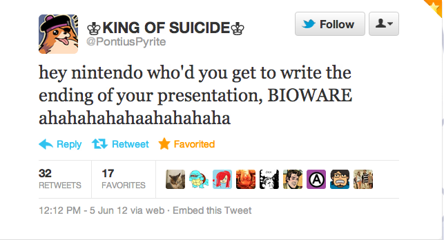 Best Tweet of E3