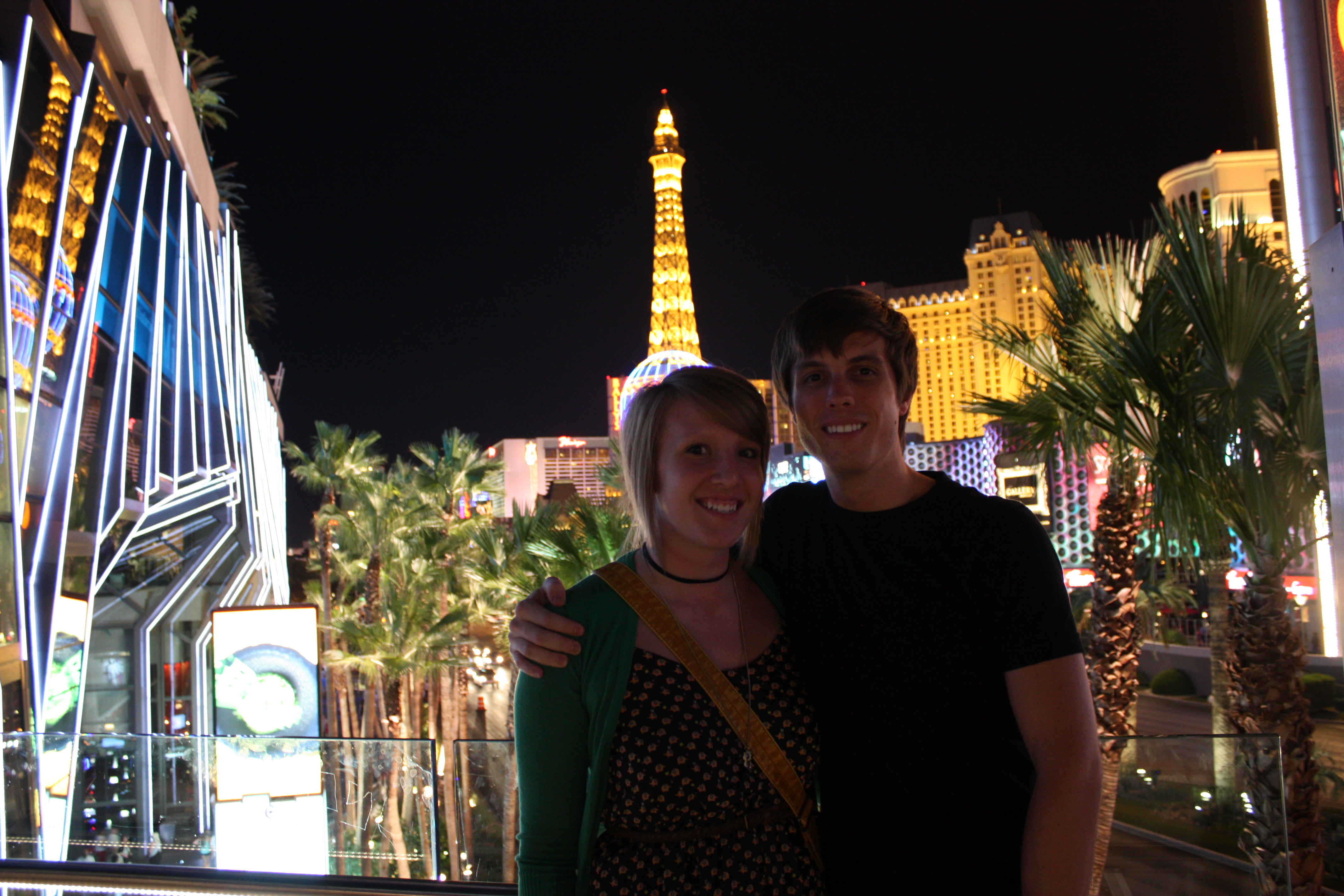 Cody Rapol and Keeshia McDonald in Vegas or somewhere close18