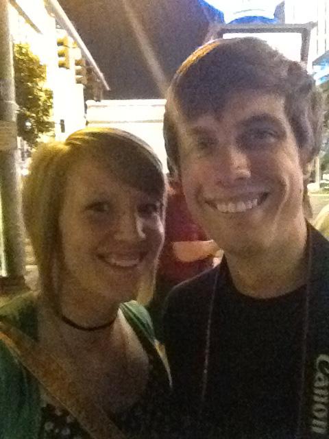 Cody Rapol and Keeshia McDonald in Vegas or somewhere close22