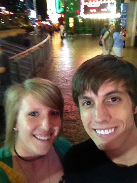 Cody Rapol and Keeshia McDonald in Vegas or somewhere close31