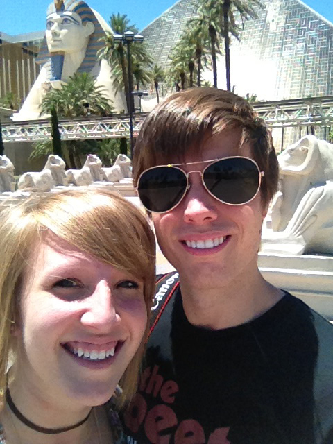 Cody Rapol and Keeshia McDonald in Vegas or somewhere close83