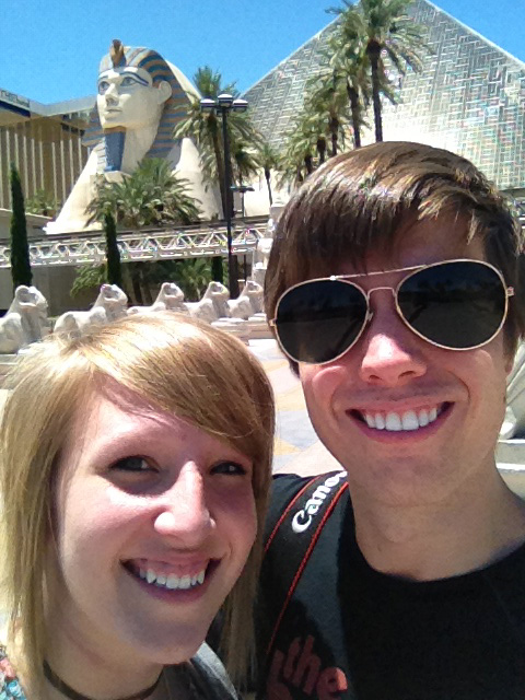 Cody Rapol and Keeshia McDonald in Vegas or somewhere close84