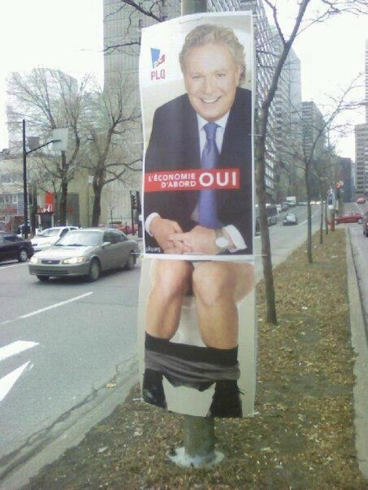 How we Troll Election billboards in Canada.