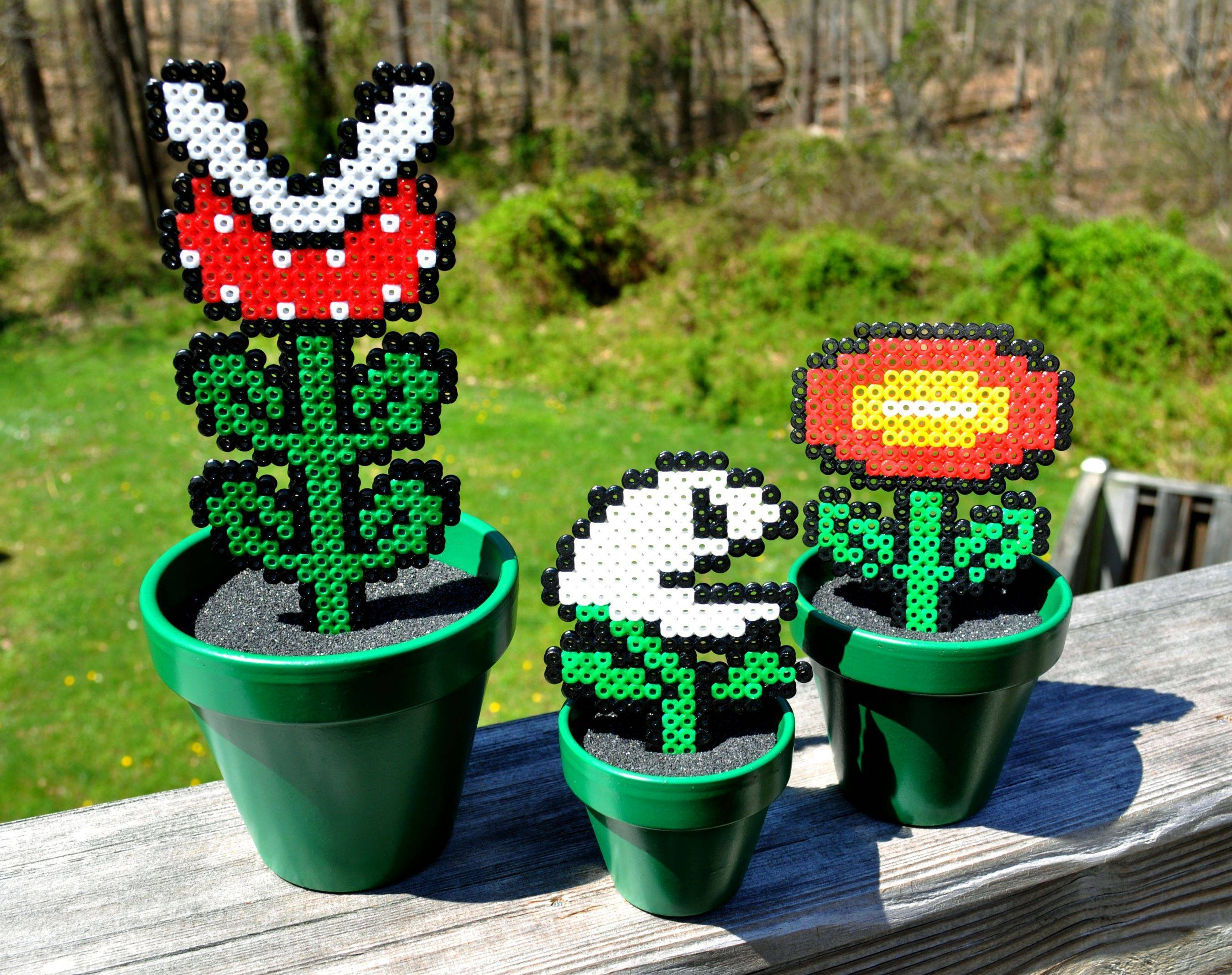 Just some Mario pots