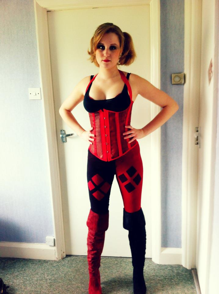 My Harley Quinn costume for MCM London Comic Con 2012