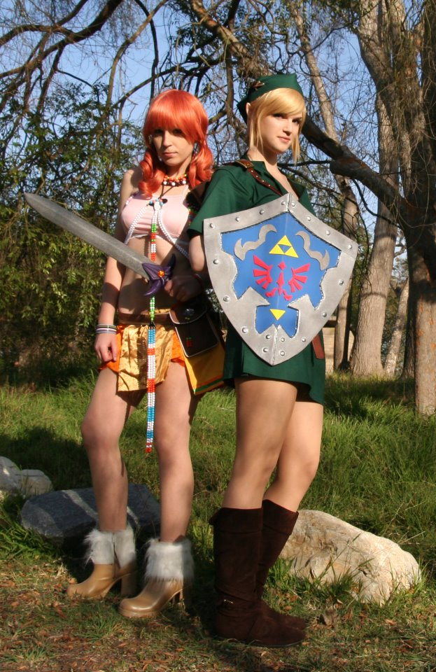 My best friend and I as Link and Vanille. Enjoy.