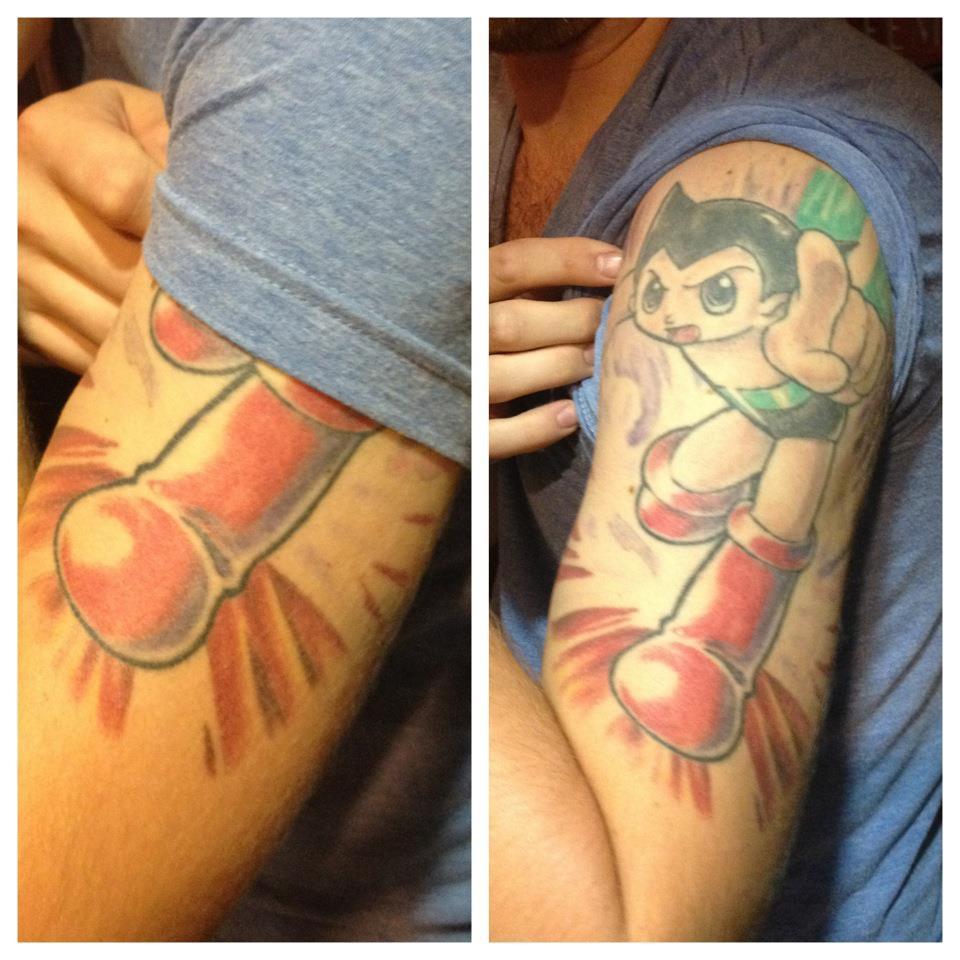 My best friend's (un)fortunate tattoo....
