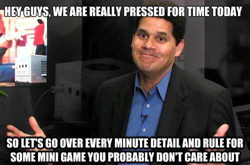 Nintendo's presentation logic