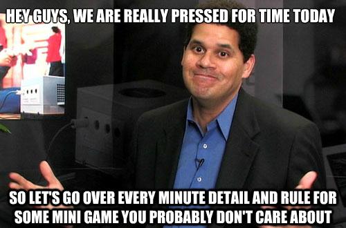 Nintendo's presentation logic