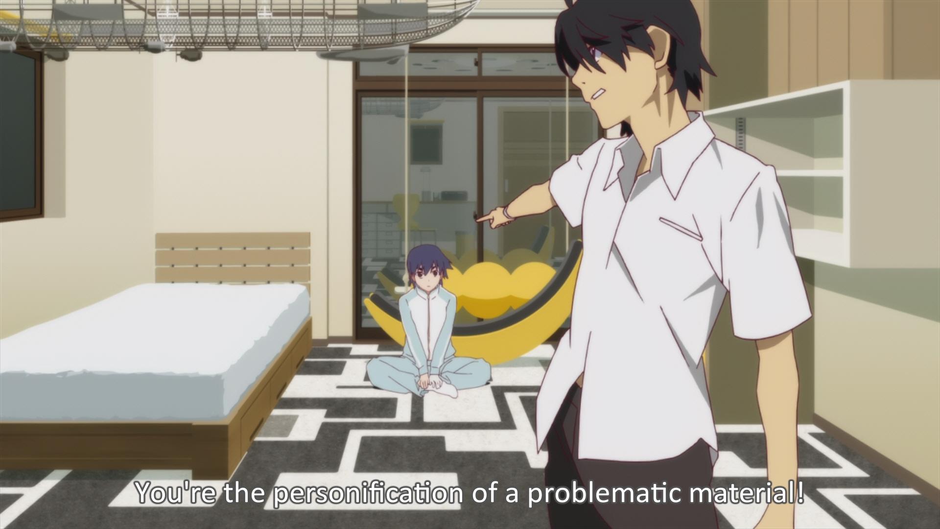 Bakemonogatari Episode 9 021