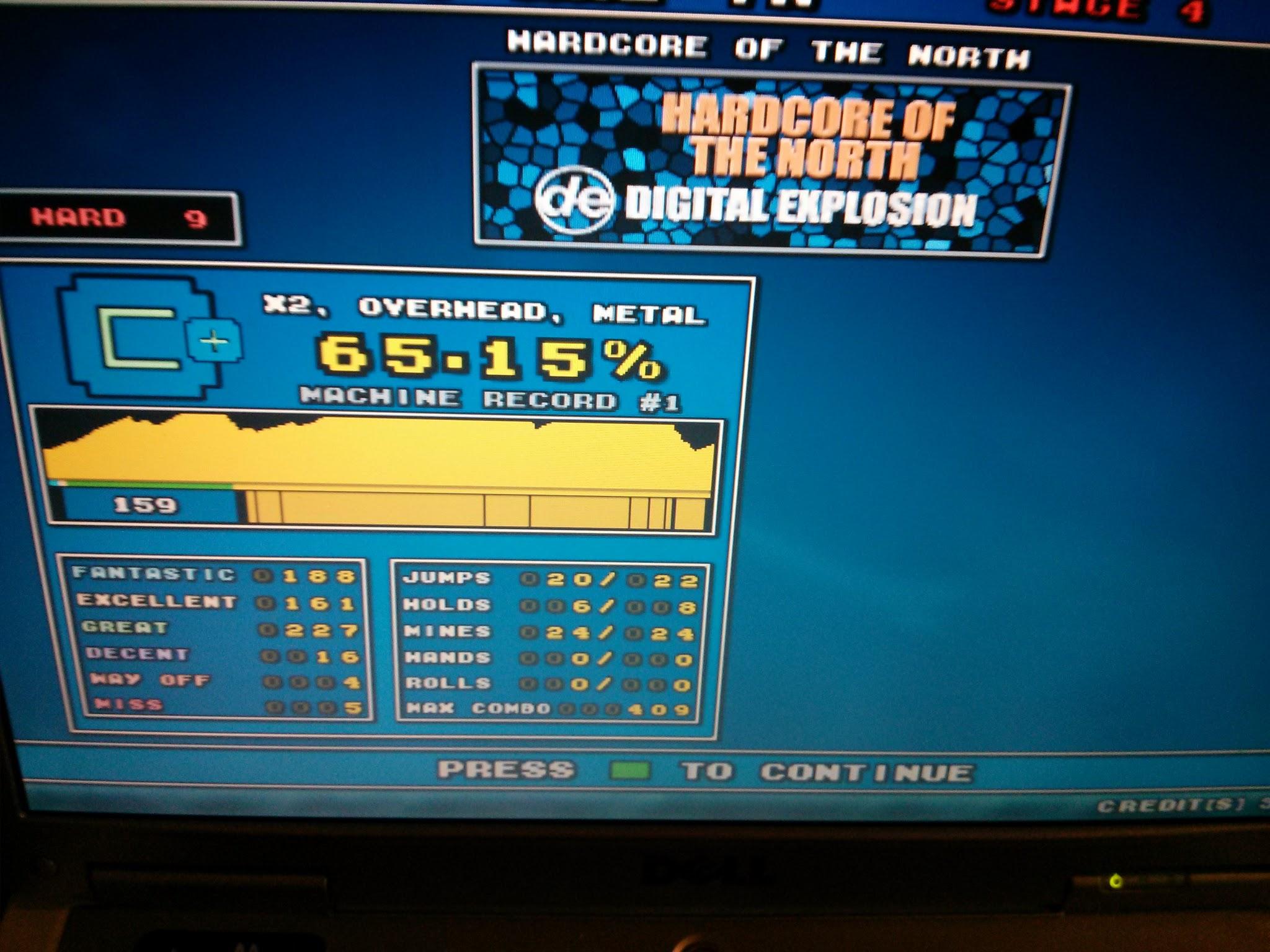 DDR Scores 12-12-12 11