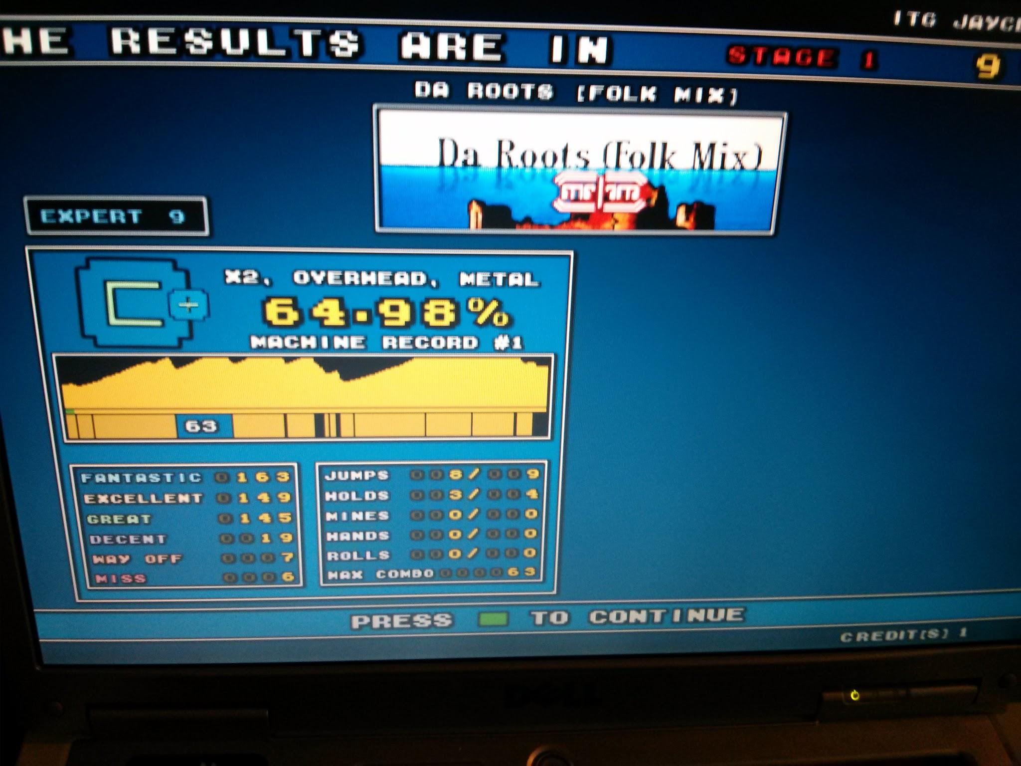DDR Scores 12-12-12 19