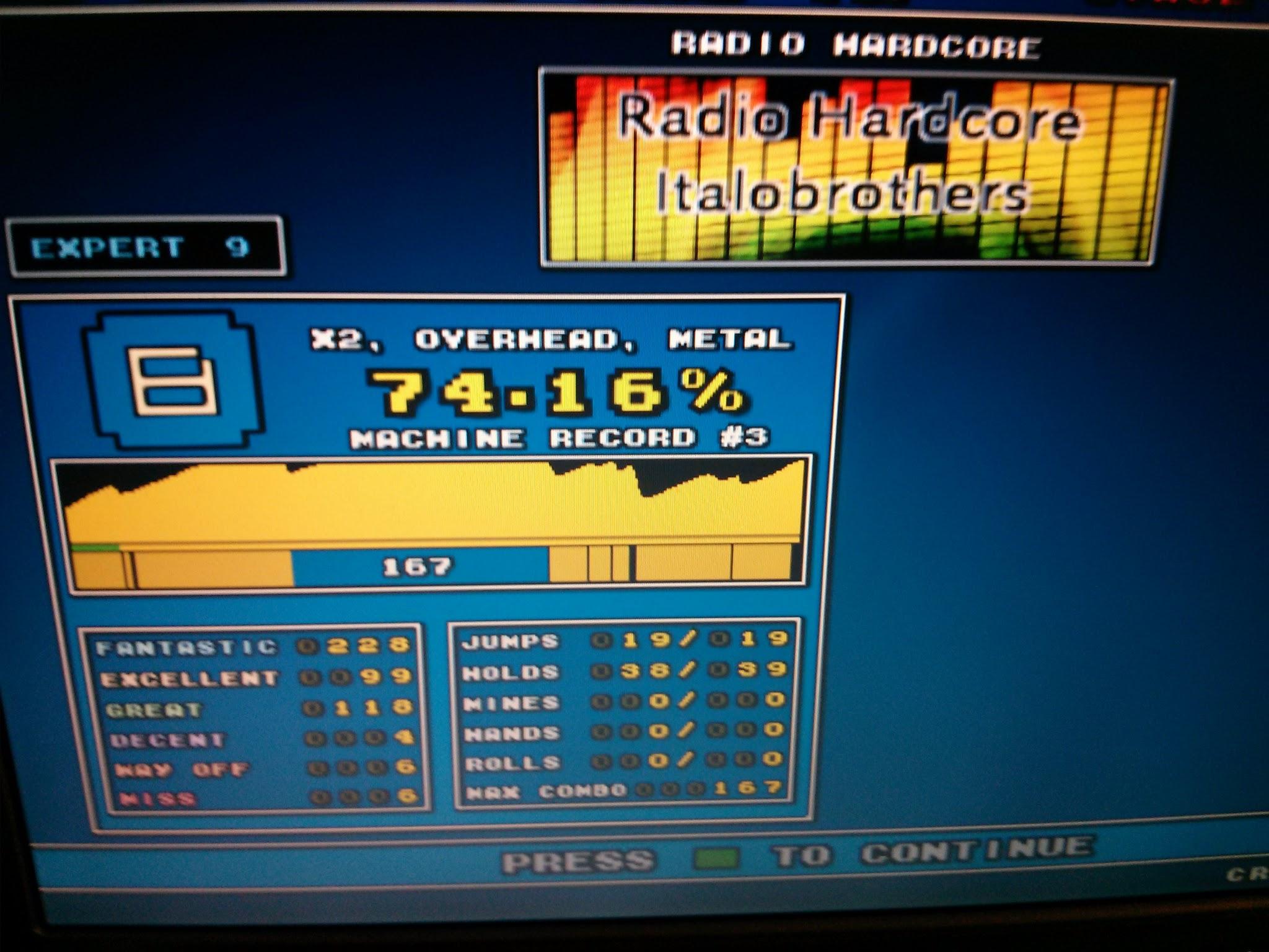 DDR Scores 12-12-12 3