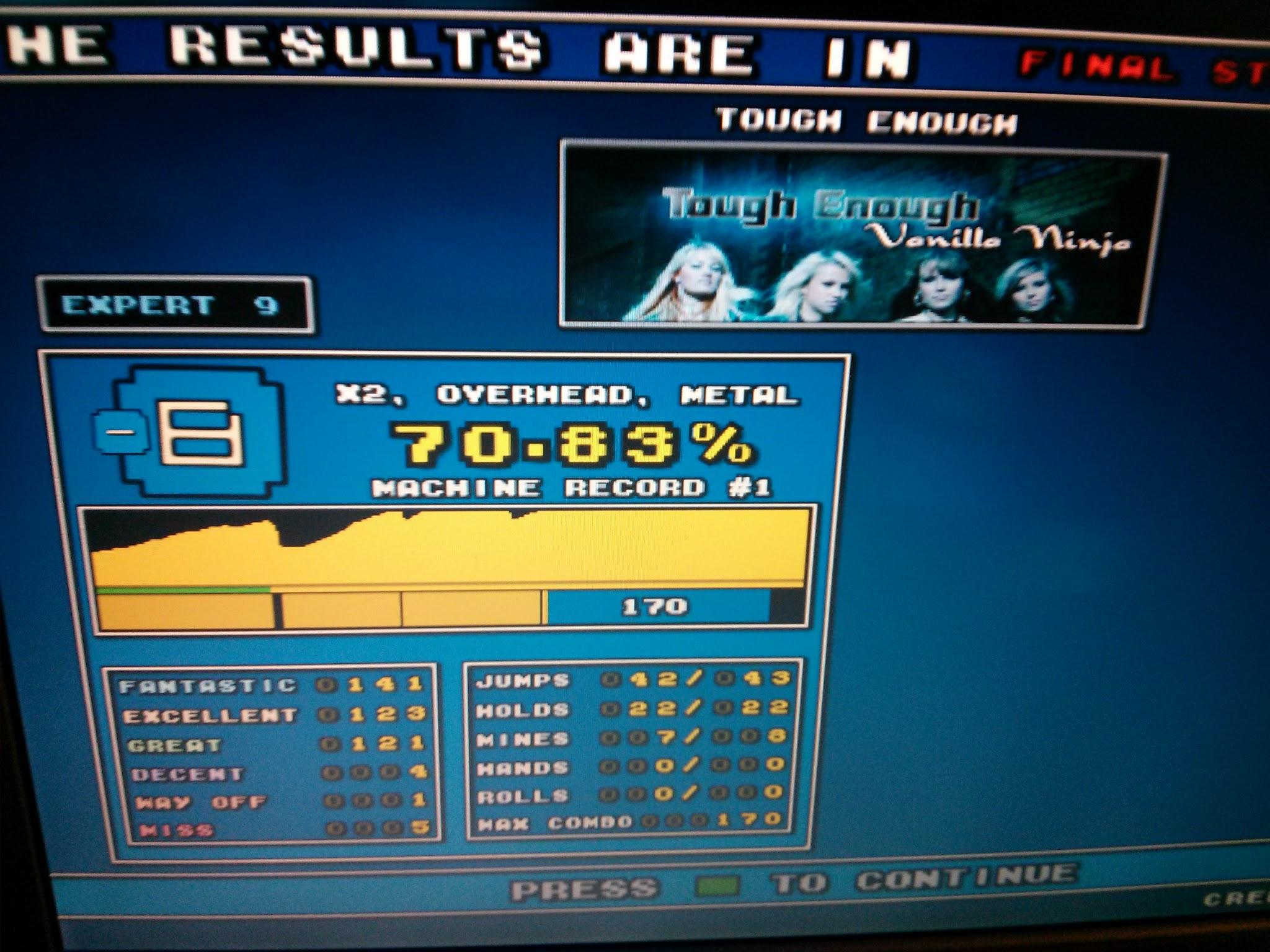 DDR Scores 12-12-12 5