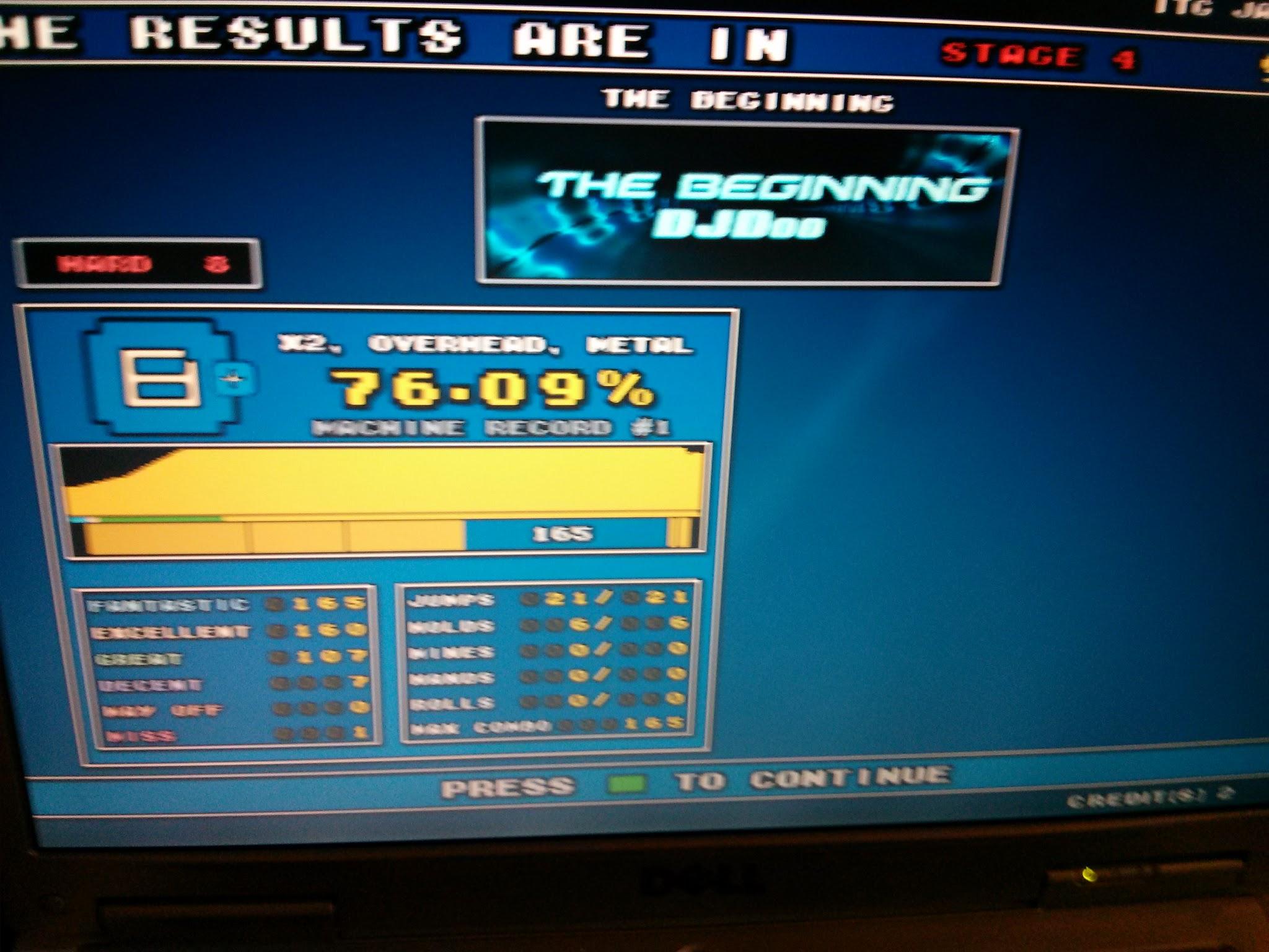 DDR Scores 12-12-12 6