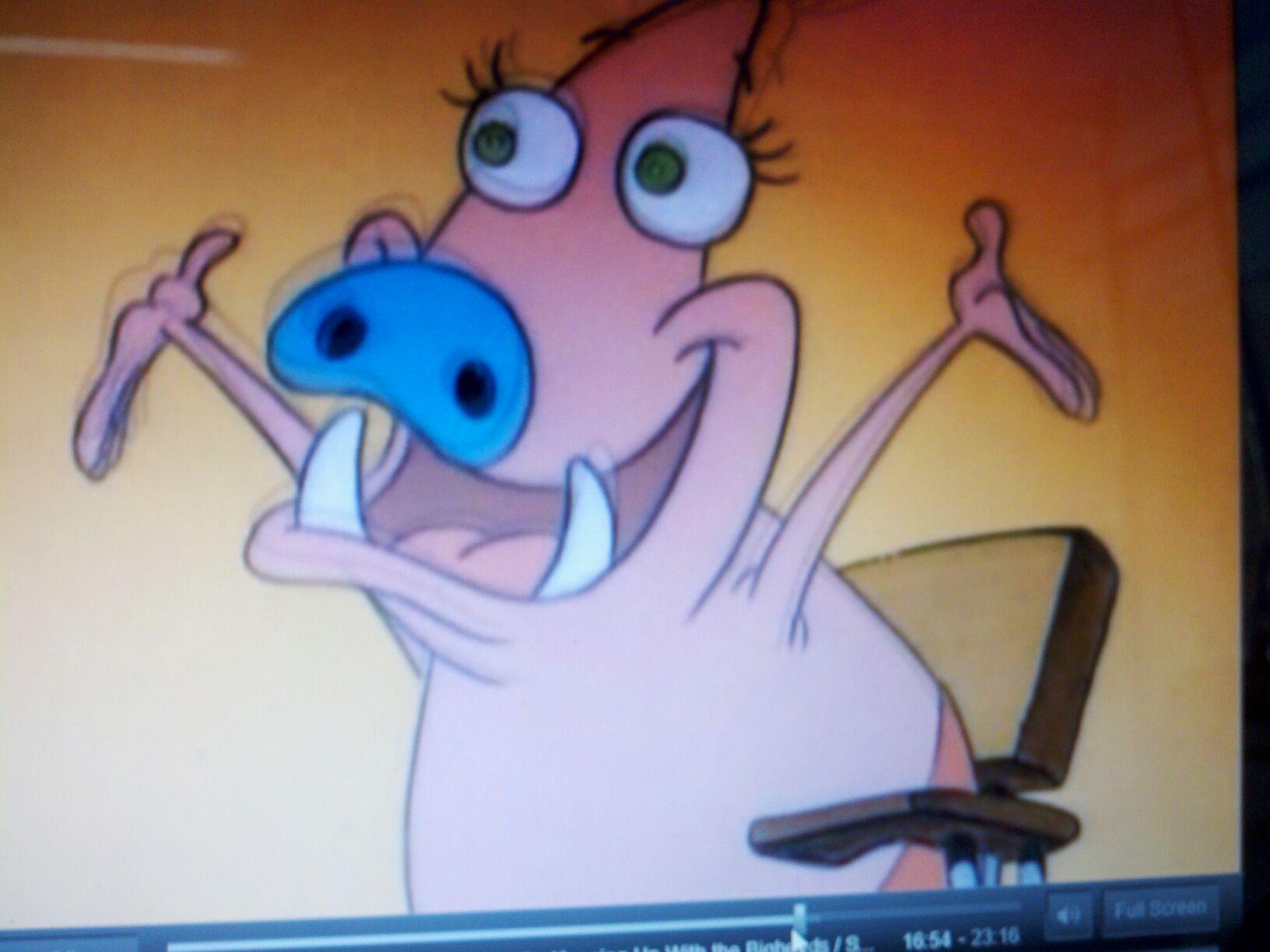 I'M A WILD PIG!!