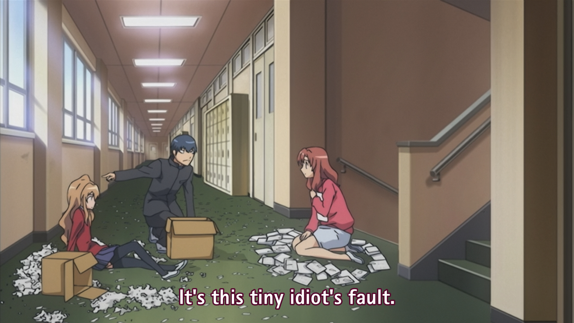 Toradora Episode 18 001