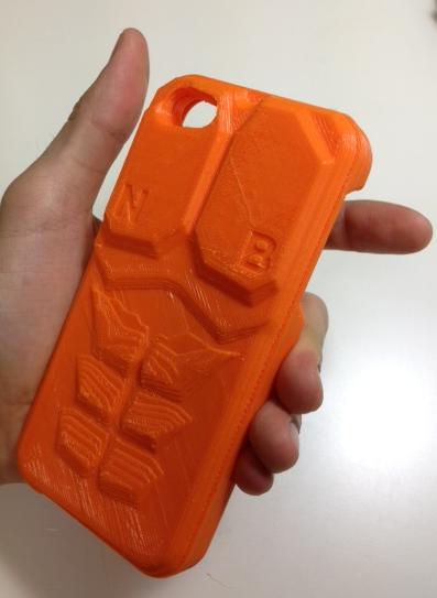 3D Printed Kill la Kill Nudist Beach iPhone Case