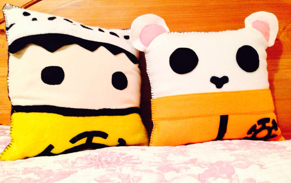 Bepo and Trafalgar Law Pillows
