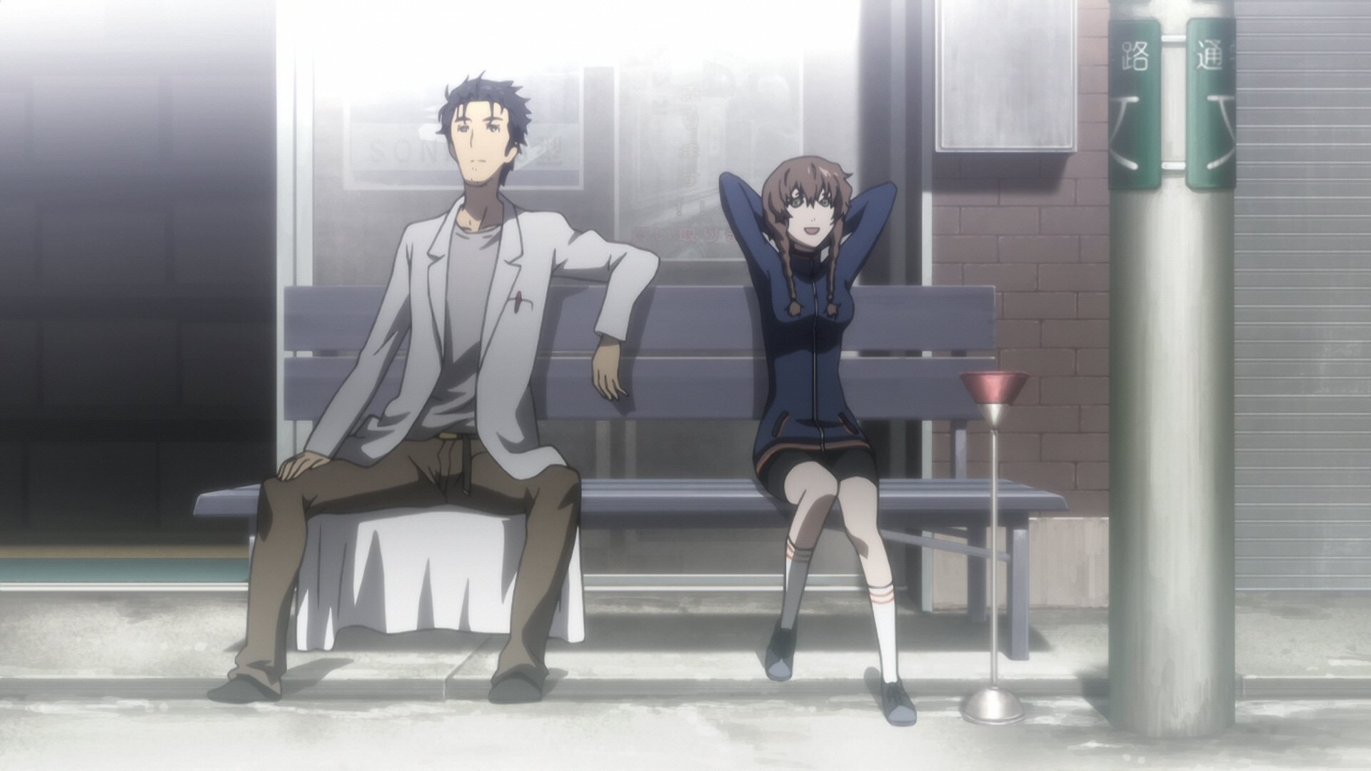 Steins Gate Episode 10 Chaos Theory Homeostasis III 05
