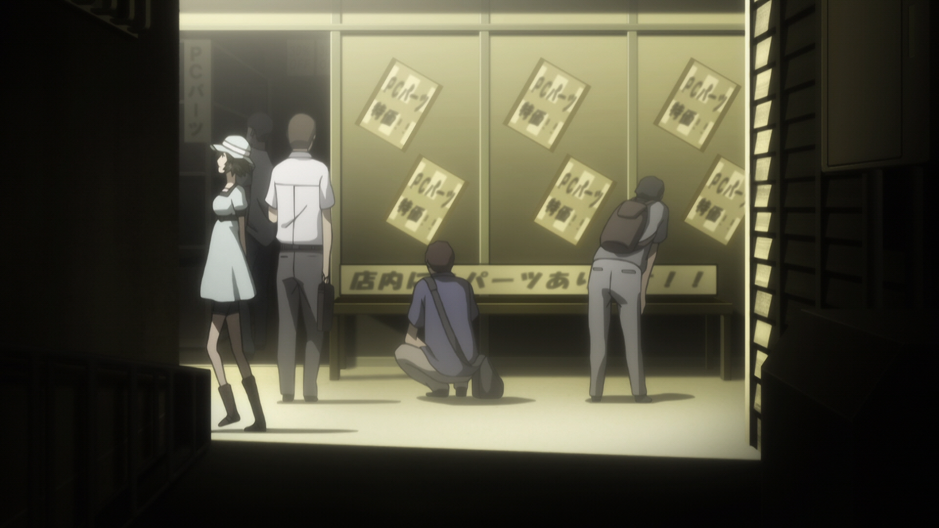 Steins Gate Episode 11 Dogma in Event Horizon 05