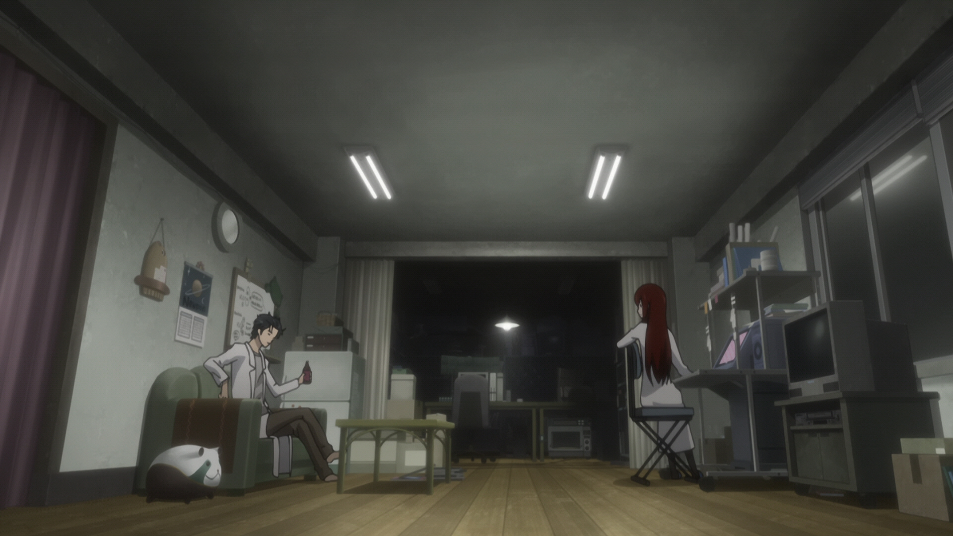 Steins Gate Episode 11 Dogma in Event Horizon 10