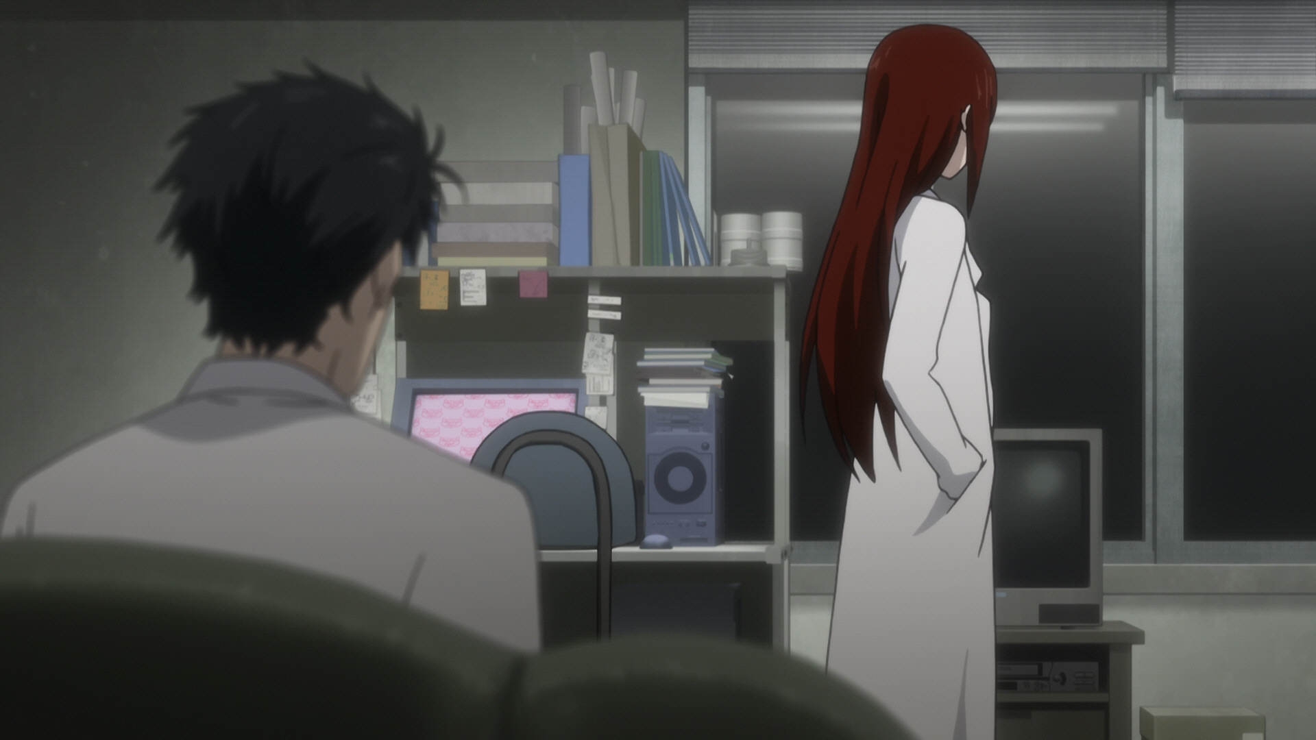 Steins Gate Episode 11 Dogma in Event Horizon 11