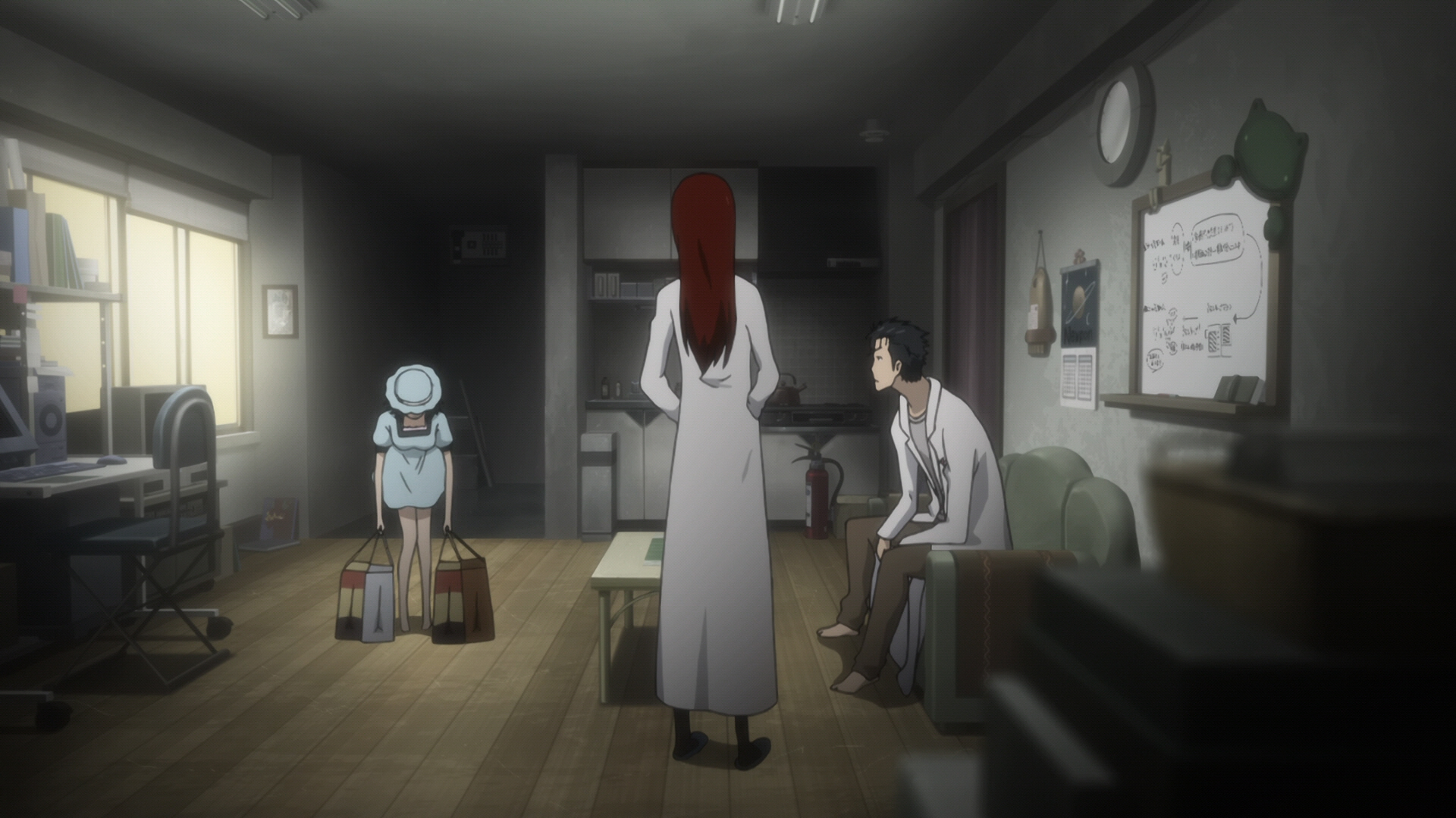 Steins Gate Episode 11 Dogma in Event Horizon 16