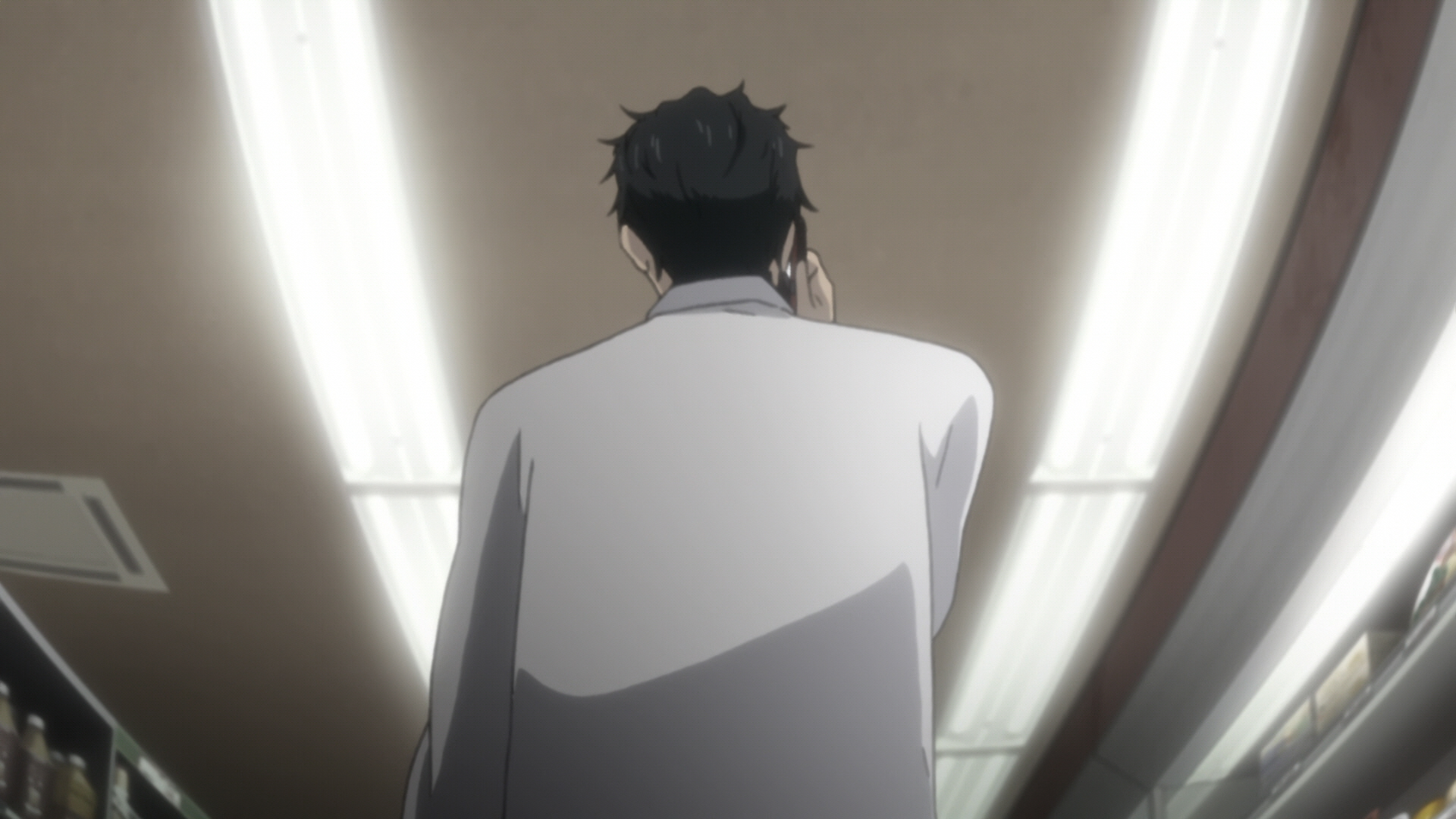Steins Gate Episode 11 Dogma in Event Horizon 18