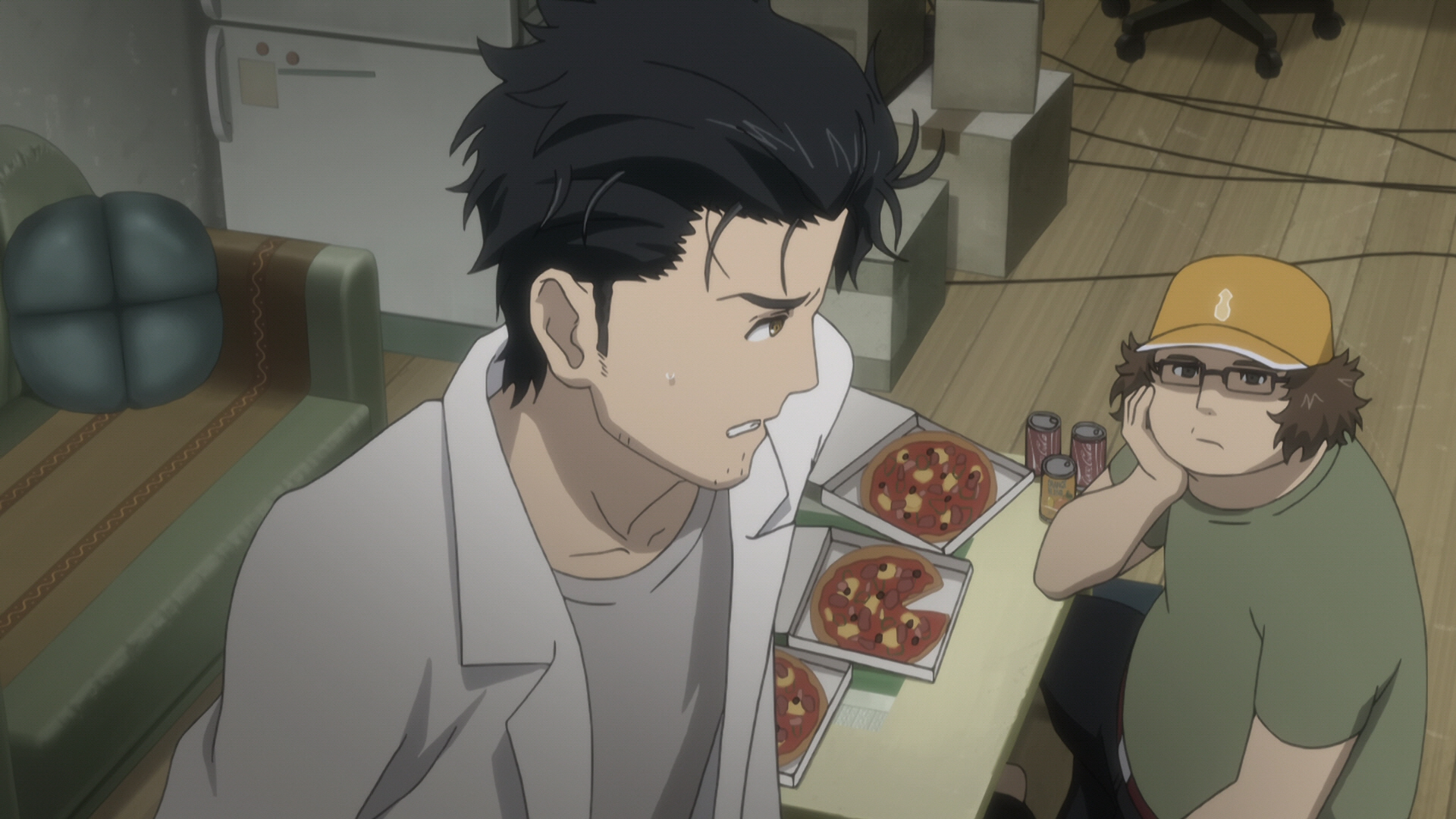 Steins Gate Episode 12 Dogma in Ergosphere 13