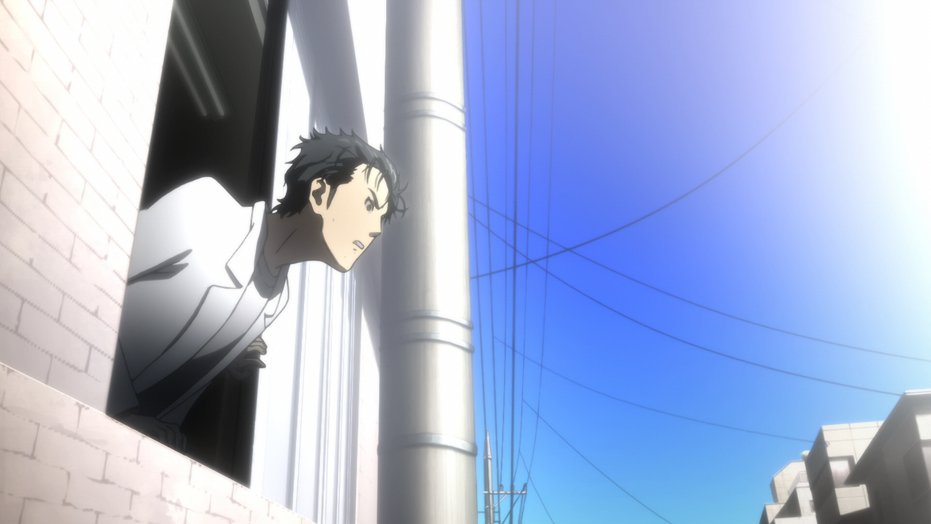 Steins Gate Episode 8 Chaos Theory Homeostasis I 09