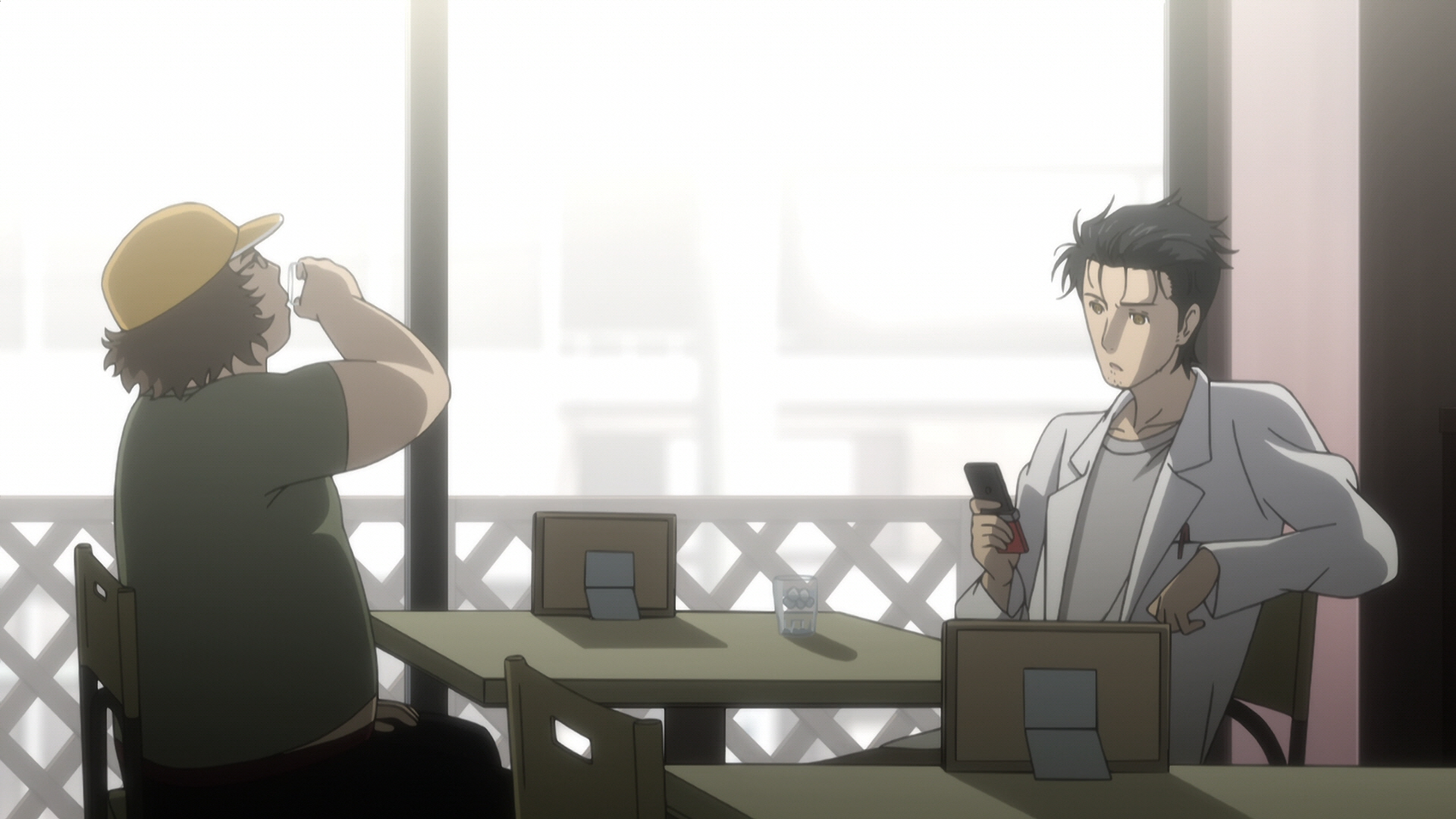 Steins Gate Episode 9 Chaos Theory Homeostasis II 00